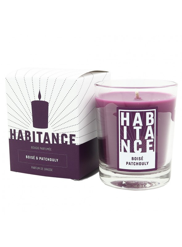 Scented Candle MAGIC OF FAR EAST (Woody note, Patchouly)
