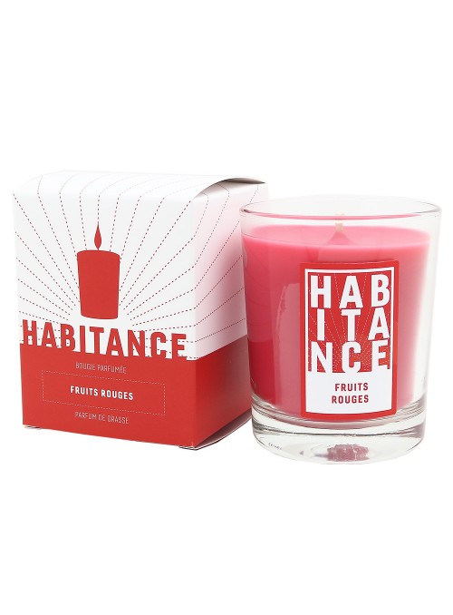 Bougie parfumée Fruits rouges 150gr